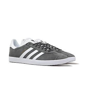 Adidas Originals Gazelle Slate Grey Suede Trainers