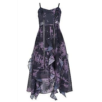 Punk Rave Organza Tie Dye Dress