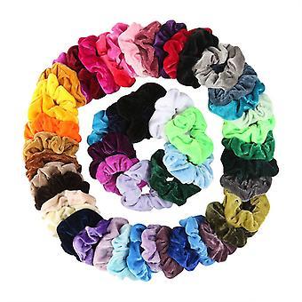 fløyel scrunchie elastisk hår gummibånd