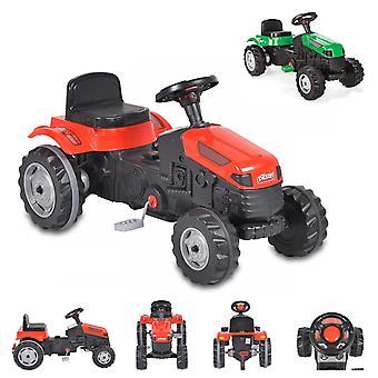 Pilsan trattore bambino 07314 Attivo, pedali, sedile multireli regolabile, da 3 anni