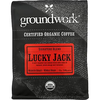 Groundwork Coffee Coffee Lucky Jack Org, Case of 6 X 12 Oz