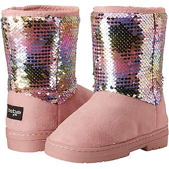 bebe jenter shimmer vinter støvler med rhinestone uformell varm slip-on sko