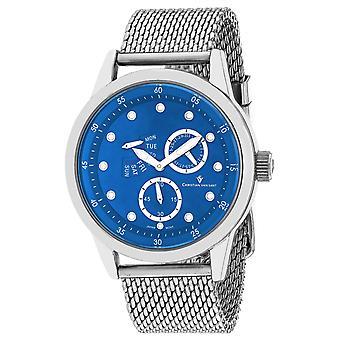 Christian Van Sant Men's Rio Blue Dial Watch - CV8717