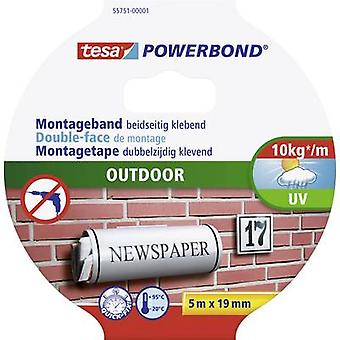 Tesa® Powerbond ulkouima 5 m x 19 mm