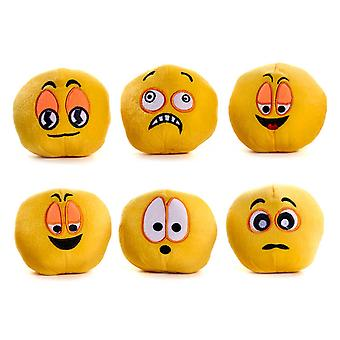 Funny Face Ball Soft Toy 11cm (ONE supplied)