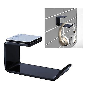 Headphone cushions tips wall mounted space saving acrylic headset holder hanger/stand