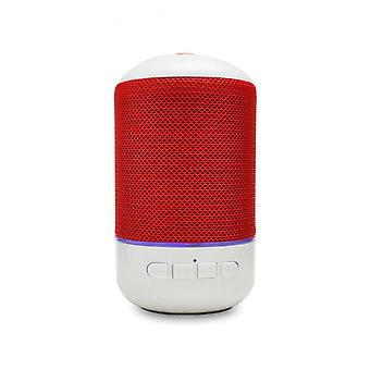 Mini Portable Wireless Bluetooth Speaker Heavy Bass Outdoors Subwoofer With Mic For Iphone Xiaomi Red Color