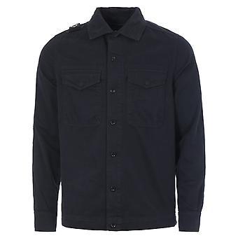 MA.Strum GD Two Pocket Overshirt - Dark Navy