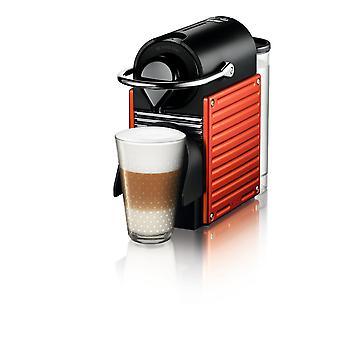 Nespresso C61 Pixie Red Coffee Machine