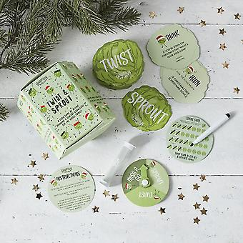 Twist and Sprout Game Christmas Party Game Stocking Filler