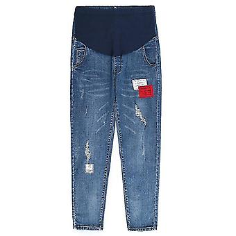 Denim Trousers Loose Jeans For Pregnant Women