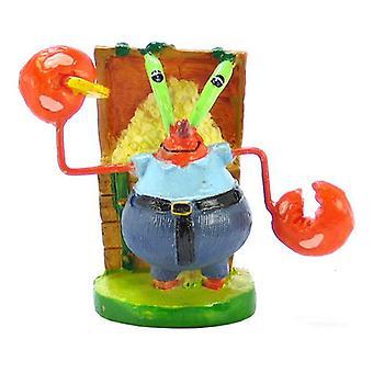 Spongebob Mr. Crabs Aquarium Ornament - Mr. Crabs Ornament