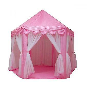 Spielen Zelte Tunnel Mädchen spielen Zelt Indoor Prinzessin Schloss Kinder Zelt Haus rosa