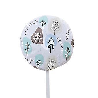 Fan accessories round electric fan dust cover  washable dustproof damp-proof cover for pedestal fan  table fan  wall