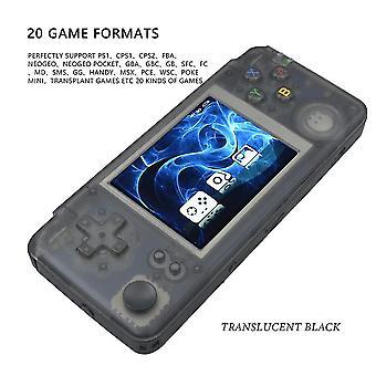 Newzuidid rs97 kapesní herní přehrávač retro hra plus 3.0 ips obrazovka video herní konzole 64g 5000 her