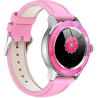 Belita Amy Chronus Smart Watch Femmes Élégant Ip67 de haute qualité imperméable à l'eau avec tracker de fitness, moniteur de sommeil de fréquence cardiaque, compteur de pas calorique (rose)