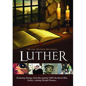 Luther: His Life His Path His Legacy [DVD] USA import