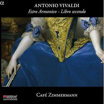 A. Vivaldi - Vivaldi: Estro Armonico - Libro Secondo [CD] USA import