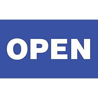 5ft x 3ft Flag - Open