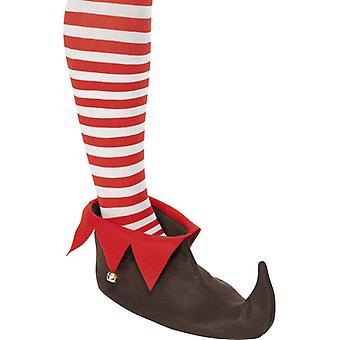 Elfenschuhe Weihnachten Elfen Kobold Schuhe zum Kostüm