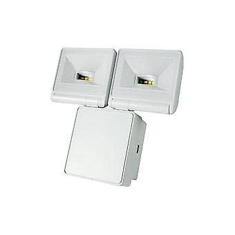 Timeguard Powerful 2x8W LED Energy Saver Floodlight, White