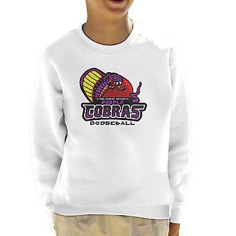 Purple Champs Globo Gym Purple Cobras Dodgeball Kid's Sweatshirt