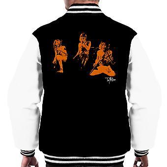 Def Leppard Joe Elliot Union Jack Männer Varsity Jacket