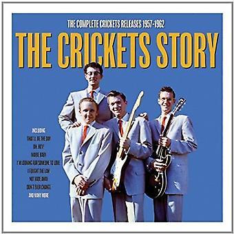 Crickets - historie [CD] USA importerer
