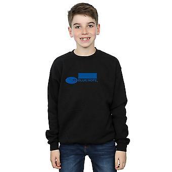 Blue Note Records Boys Simple Logo Sweatshirt