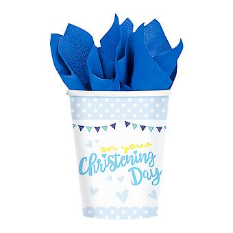 Amscan On Your Christening Day Cups (Pack Of 8)