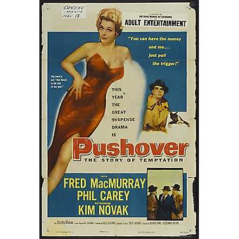 Pushover Movie Poster (11 x 17)