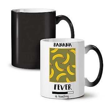 Banana Fever Funny NEW Black Colour Changing Tea Coffee Ceramic Mug 11 oz | Wellcoda