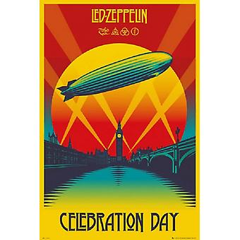 Led Zeppelin - Celebration Day Poster Poster Print