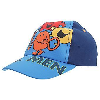 Mr Men Childrens Boys Character Design Baseball Cap