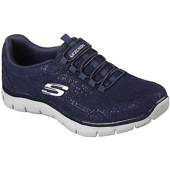 Skechers Womens/Ladies Empire Spring Glow Memory Foam Trainers Shoes