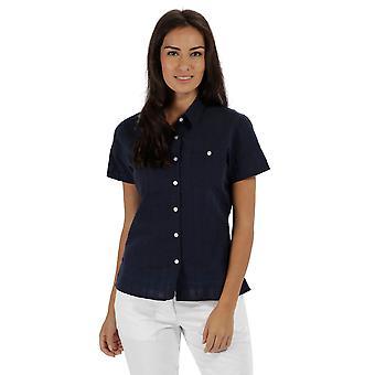 قميص كم قصير القطن كولويفي جيربرا المرأة/السيدات سباق القوارب