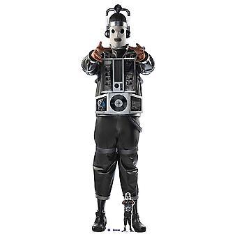 Mondassian Cyberman Doctor Who Lifesize Cardboard Cutout / Standup