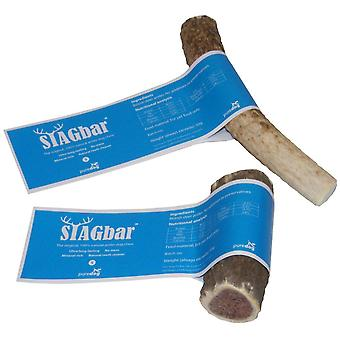 ANTOS Stagbar antler cane chew - piccolo 100% naturale 30-50g.