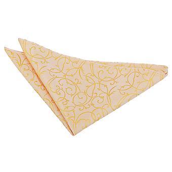 Mouchoir de poche tourbillon or