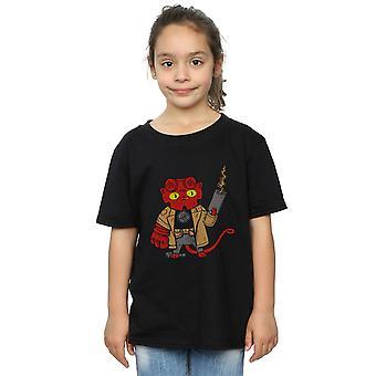 Pepe Rodriguez meisjes Mini Hellcat T-Shirt