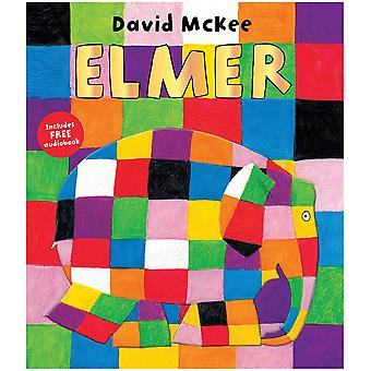 Rainbow Designs Elmer Paperback Book