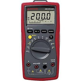 BEHA Amprobe AM-520-EUR kannettava yleismittari digitaalinen CAT II 1000 V, CAT III 600 V-näyttö (laskee): 4000