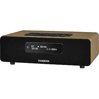 Sangean DDR-36 BT Desk radio DAB+, FM AUX, Bluetooth Brown