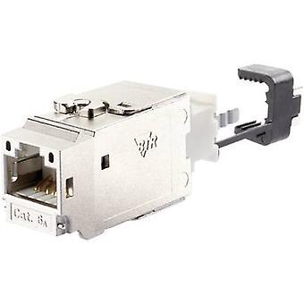 Metz Connect 130B21-E RJ45 module Keystone CAT 6A