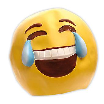 Emoticon mask smilie laughter tears laughing smile funny mask