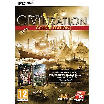 Civilisation V Gold Edition (PC DVD)-nytt