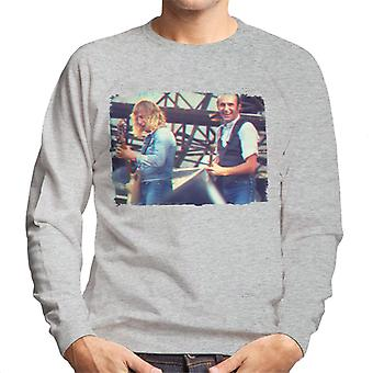 TV Times Status Quo Live 3D Effect Men's Sweatshirt