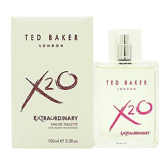 Ted Baker X20 buitengewone voor vrouwen Eau de Toilette 100 ml EDT Spray