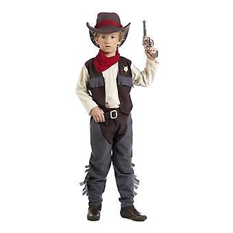 Vache de James cow-boy Hirte jeune costume costume enfant héros de Western
