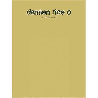 Damien Rice O: Guitar Tablature Vocal (Gtab)